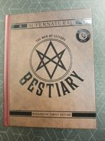 Supernatural TV Show Bestiary Book