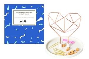 Coxet Wire Ceramic Jewelry Holder Design-Rose Gold
