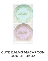 Cute Balms Macarron Duo lip balm