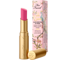 Too Faced La Creme Color Drenched Lipstick in Double Bubble