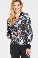 Fabletics Diana Palm Tree Bomber Jacket