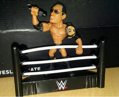 The Rock WWE Slam Stars Collectible