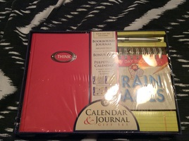 Perpetual Calendar, Journal and pen set