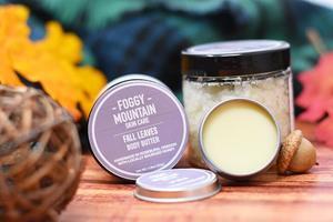 Foggy Mountain Skin Care Mint & Honey Lip Scrub
