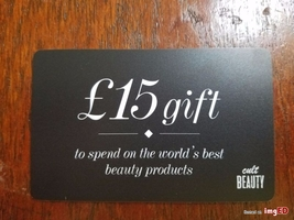 15 British Pound gift card (aka 20 USD)