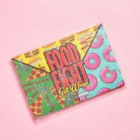 Food Fight Gift Wrap