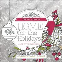 Home for the Holidays: Travel Edition Christmas Holiday Coloring Book The Daily Deal Box