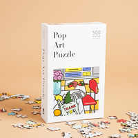 W&P Design Pop Art Puzzle – Retail Value $20