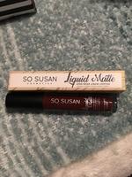 So Susan Liquid Matte in Chocolate Berry