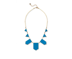 House of Harlow Five Station Necklace in Teal