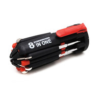 8 in 1 Screwdriver with Built-In Flashlight