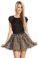 Sugar Lips Golden Drops Skirt