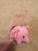Sentimental Circus ink elephant mini plush