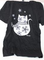 Snow kitty T-shirt