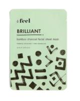 FEEL Brilliant Bamboo Charcoal Facial Sheet Mask