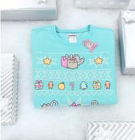 winter 2017 pusheen box sweater