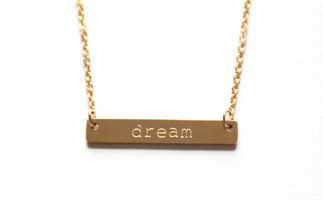 Jook and Nona Tag Necklace Dream