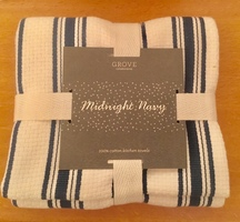 Grove Collaborative Dish Towel Midnight Navy