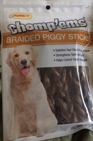 Braided piggy sticks