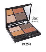 Zuii Organic Quad Eyeshadow Palette-Fresh