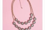 The Violetta Double Strand Necklace