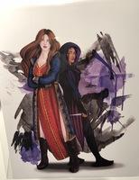Six of crows Inej & Nina print