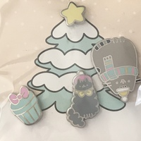 Pusheen Winter 2017 Pins