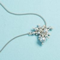 Chan Luu pearl earrings silver
