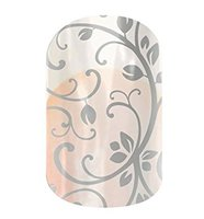 Jamberry Silver Floral
