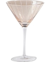 Gibson Home Elite | Bancroft Bay Gold Hand-Etched Martini Glass