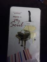 Phantom of the Opera piano bookmark