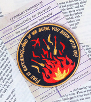 The Hunger Games - Fire Is Catching Badge