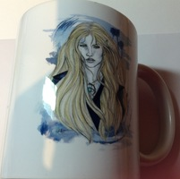 Throne of Glass illustrated mug