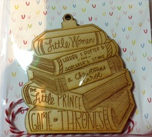 Bookish Ornament December 2017