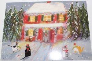 Catlady Holiday print