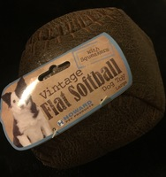 Vintage Flat Softball Toy
