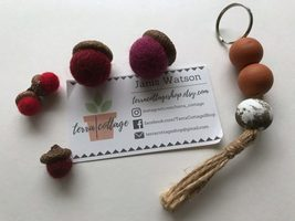 Terra Cottage Shop Keychain