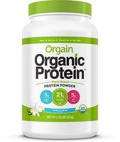 Orgain Organic Protein Plant Based Powder Vanilla Bean Sample