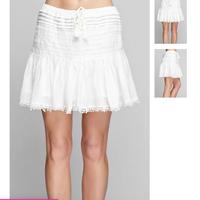 Lovestitch cotton Pleated skirt