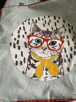 Nerdy Cat Pillowcase (FFF Add-on)