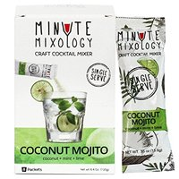 Minute Mixology Coconut Mojito Craft Cocktail Mixer Coconut Mint Lime