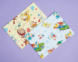 Nicktoons Wrapping Paper Set