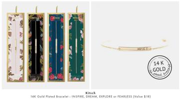 Kitsch 14K Gold Bracelet