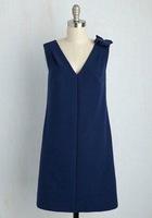 Donna Morgan navy blue dress