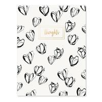 Our Heiday notebook - black magnolias