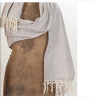 Saro Lifestyle Crotcheted Edge Scarf