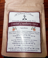 COASTAL CRANBERRY SPICE ARTISAN LOOSE LEAF TEA