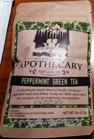 THE BROTHERS APOTHECARY PEPPERMINT GREEN TEA