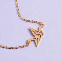 Origami Crane Bracelet