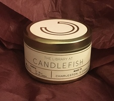 2 the Library at CANDLEFISH No. 62 Travel Candles